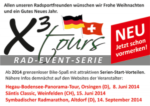 X³ tours - Rad Event Serie